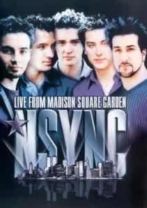 nsync-live-madison-square-garden