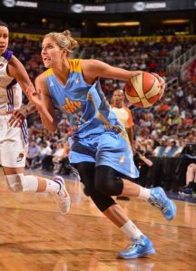 Maybe Elena Delle Donne's type is fat 22 year old's with a receding hairline.