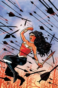 But seriously, Azzarello/Chiang's run of Wonder Woman is really good.